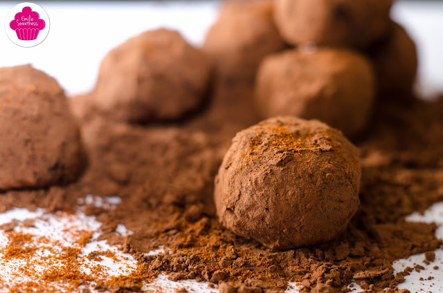 Truffes au chocolat et paprika - Battle Food #43