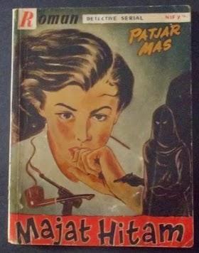 MAYAT HITAM Roman detektif serial Patjar Mas. Penerbit PUSTAKA IBUKOTA paseban 12 Djakarta.