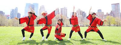 Espectáculo de baile y música Awa Odori