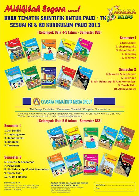 buku paud, download buku paud, buku tk penerbit asaka, buku paket paud murah, buku paket paud asaka, penerbit buku tk di Tangerang, buku paud k13