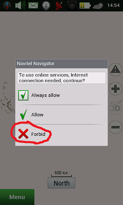 GPS Navitel for Android v8.5 full version