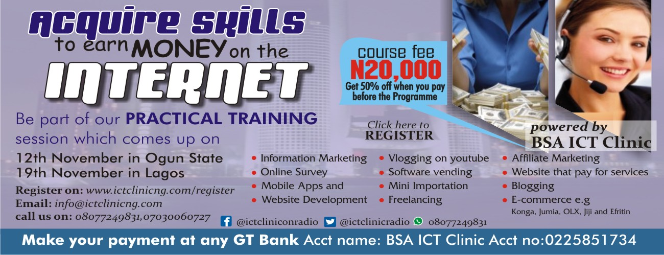 Acquire Skill To Make Money Online