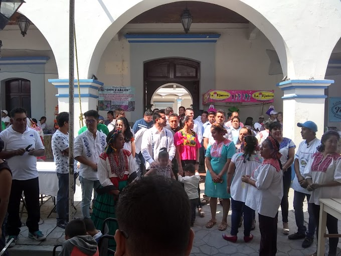Exitoso 8° aniversario de la Feria de la Salchicha en Ejutla