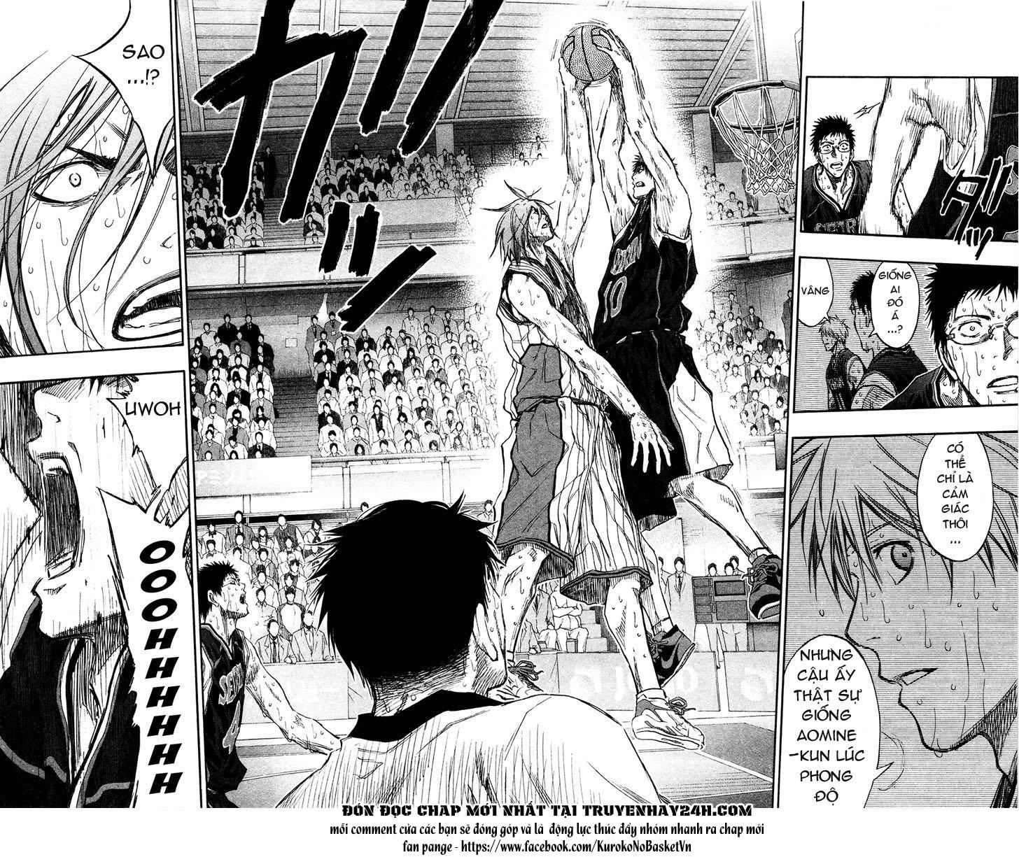 Kuroko No Basket chap 163 trang 20