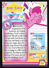 My Little Pony Berry Punch Series 2 Trading Card
