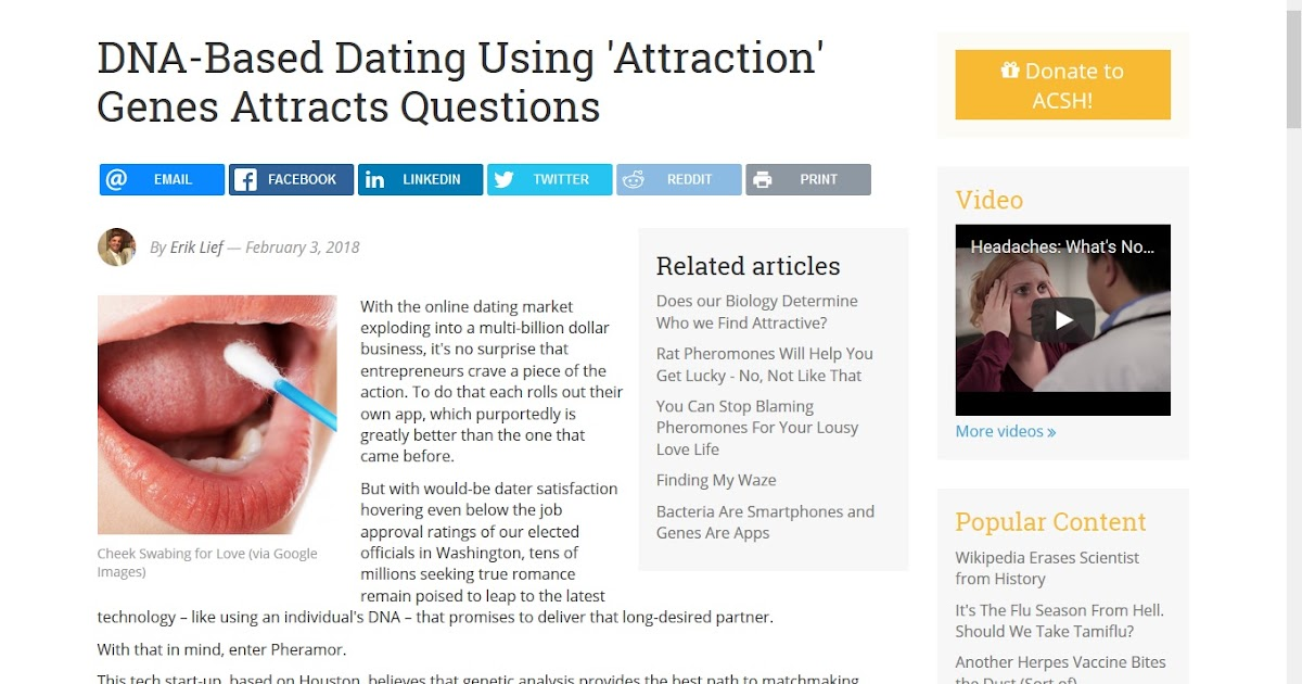 Dating no attraction