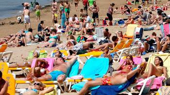 Las playas más visitadas de España