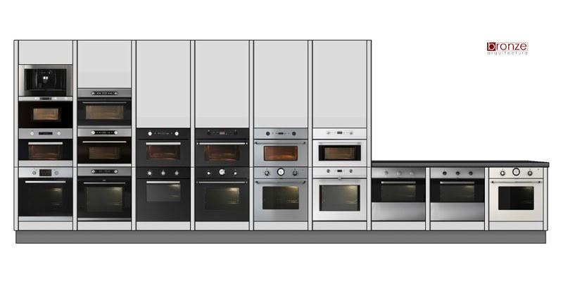 Pinceladas 3d pincelada 56 objetos simples mas eficazes 10 fornos de cozinha - Microondas de encastrar ...