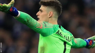 Chelsea goalkeeper fined