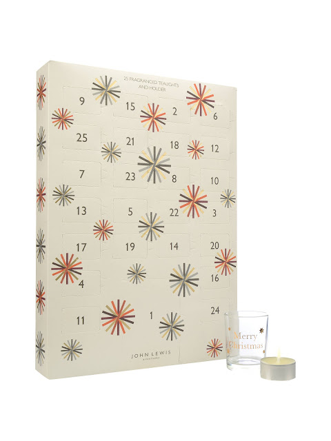 john lewis and partners christmas advent tealight calendar