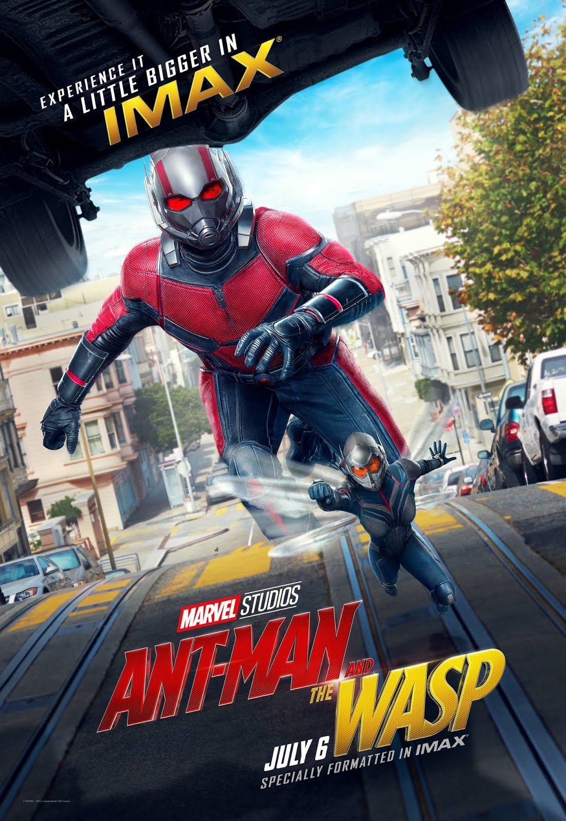Ant-Man and the Wasp (2018) ORG Dual Audio Hindi 1GB BluRay 720p ESubs