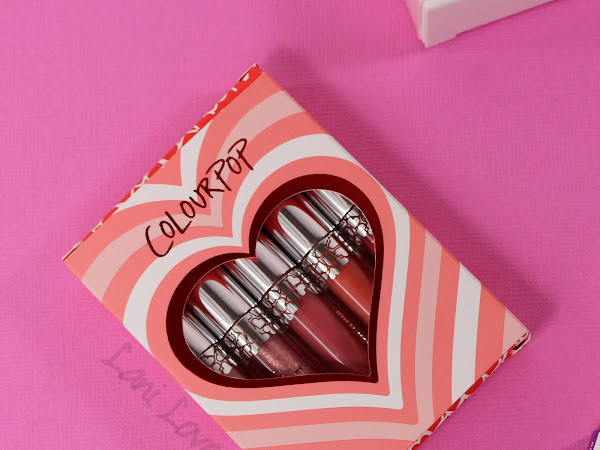 ColourPop Short and Sweet Set Swatches & Review