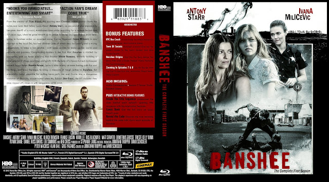 Banshee Season 1 Bluray Cover