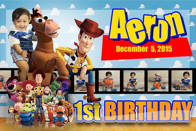 Toy Story Woody Tarpaulin Design Of Aeron Artifactors