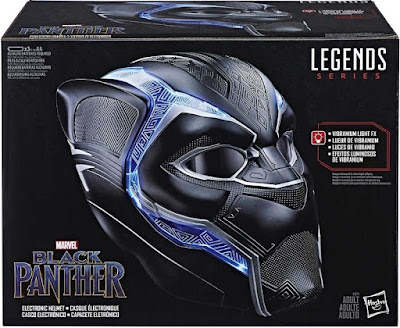 casco de vibranium de Black Panther