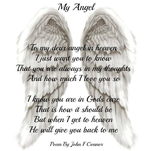My mother angel