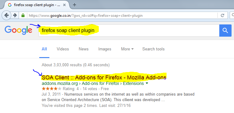 Firefox 'SOA Client' plugin for web services testing | Automation Home