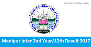 Manipur Inter 2nd Year Result 2017