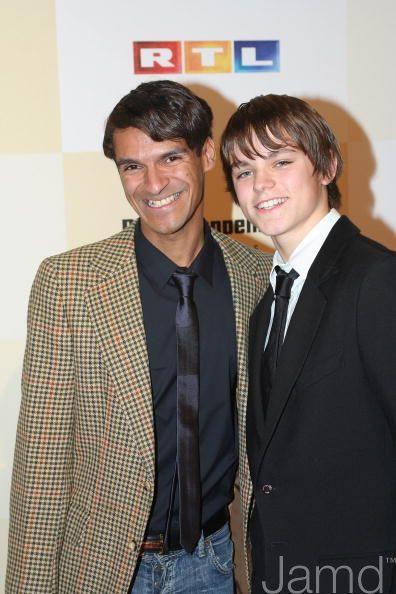 Michael Dierks mit seinem Halbbruder Julien (gleicher Papa) Tribute to Bambi