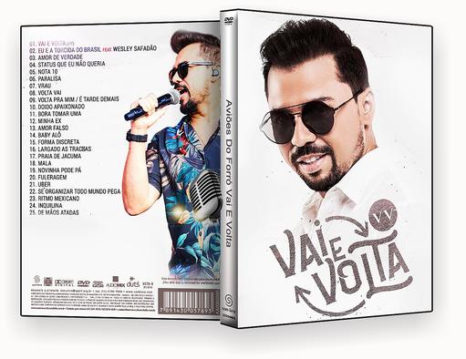 XANDY AVIOES VAI.E VOLTA – DVD-R – CAPA DVD