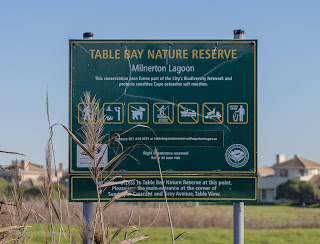 Entrance to the Table Bay Nature Reserve