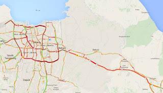 Arus Kendaraan Gerbang Tol Palimanan Berkurang 29 persen