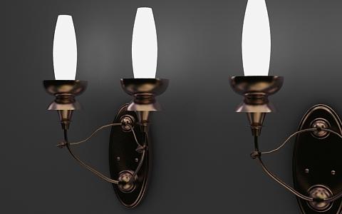 wall lamp 3d model free