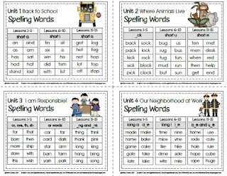 Sailing Through 1st Grade: SRA Imagine It! Spelling and ...