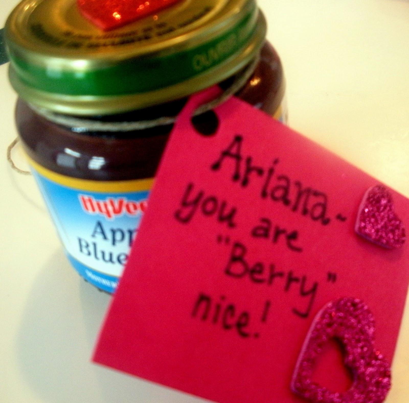 Baby Food Valentines