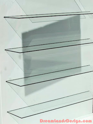 Types And Designs Of Glass Shelves