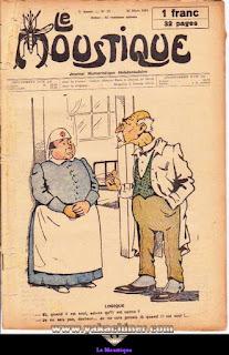 Le Moustique, Journal Humoristique Hebdomadaire, numéro 12, année 1931
