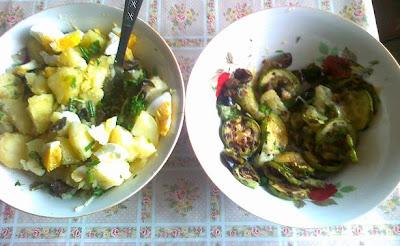 salata si dovlecei