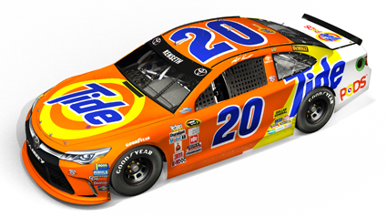 Tide's Orange & Yellow Returns to #NASCAR