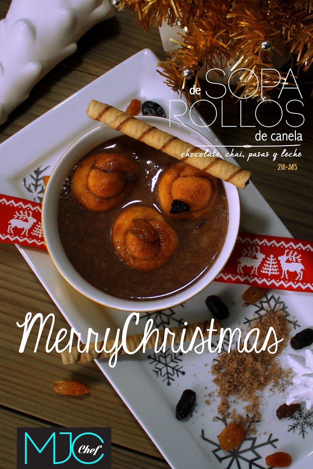 Cinnamon rolls soup