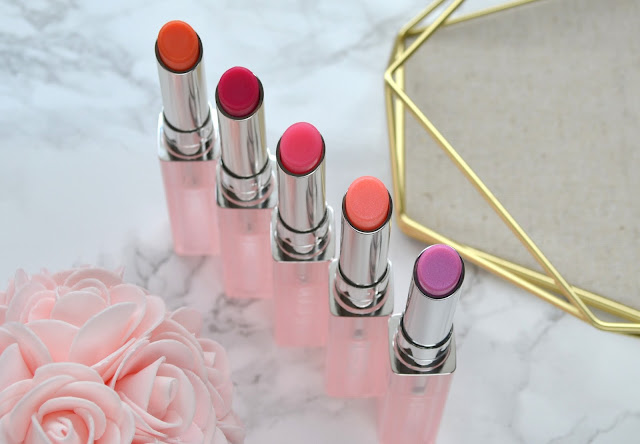 Dior Addict Lip Glow Swatches and Review
