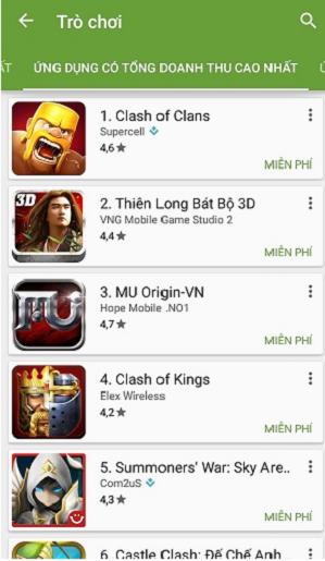 CH PLay, phiên bản Mới nhất update Full 2018 cho smartphone Android d