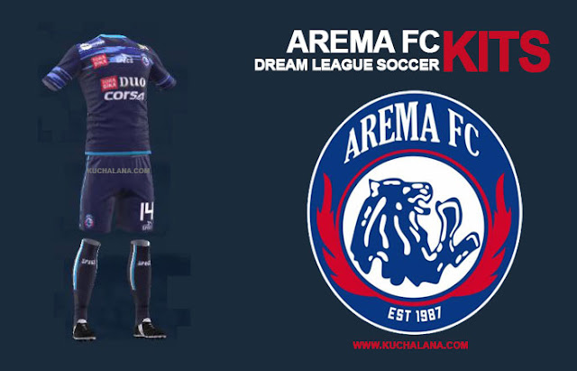 arema kit dream league soccer 2019