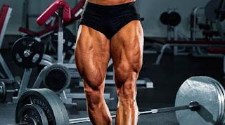 cara membentuk otot kaki, cara membentuk otot paha