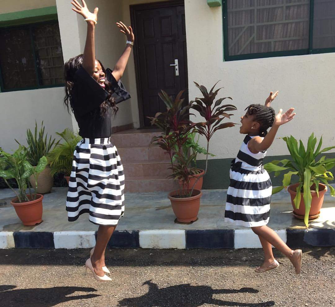 Image result for photos of kemi oyedepo and daughter