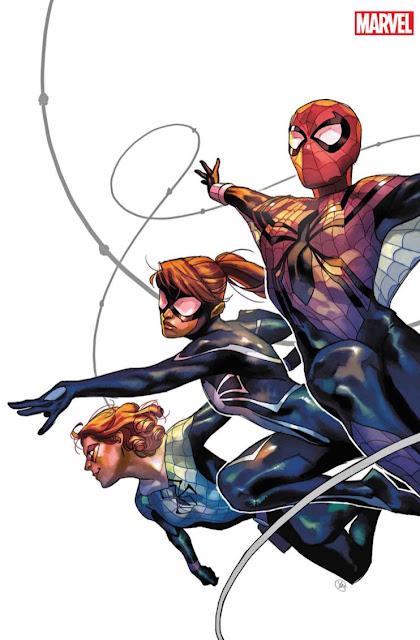 Spider-Girls, escrita por Jody Houser y dibujada por Andres Genolet.