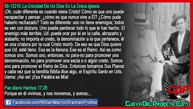 Él es una criatura por la cual Cristo murió - Citas William Branham Mensajes