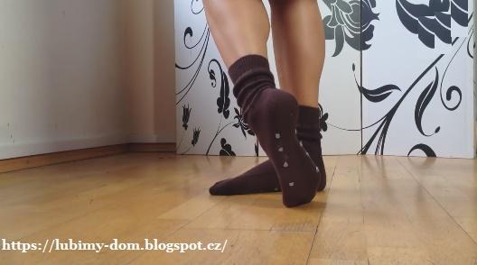 Как сделать носки нескользящими 687