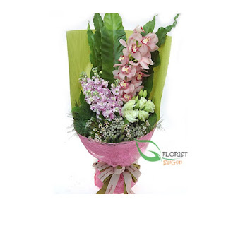 Orchid bouquet delivery in saigon