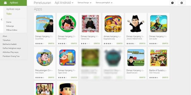 Ayo Mau Gandakan Apa? Aplikasi Dimas Kanjeng sudah Bertebaran di Google Play, Kocak Banget