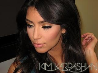Liquid Eyeliner Looks, Kim Kardashian