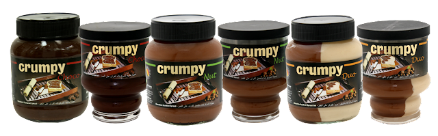 Crumpy: Belgian Chocolate Spreads