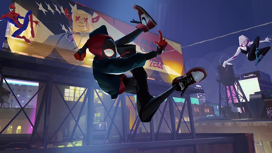Spider Man Into The Spider Verse Miles Morales 4k 3840x2160 6