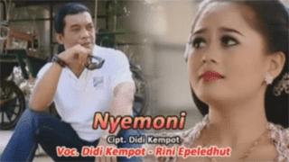 Lirik Lagu Nyemoni - Didi Kempot