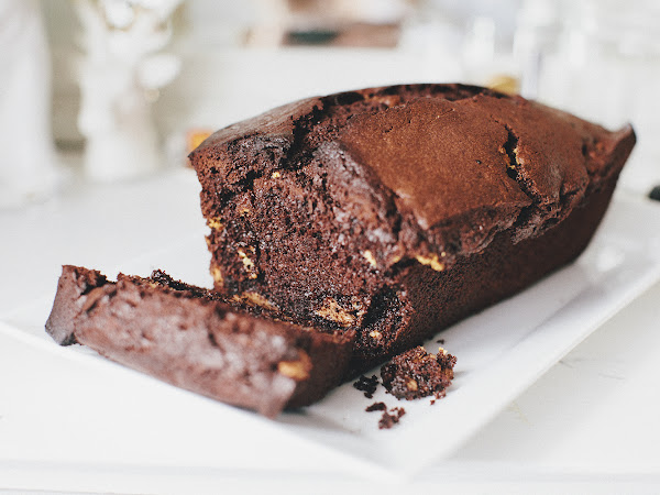 Best ever triple chocco loaf cake