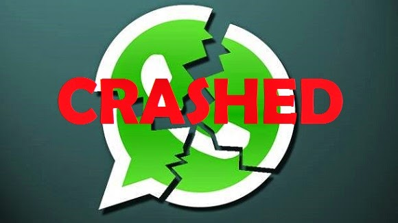 Crash your friends' whatsapp by sending a message